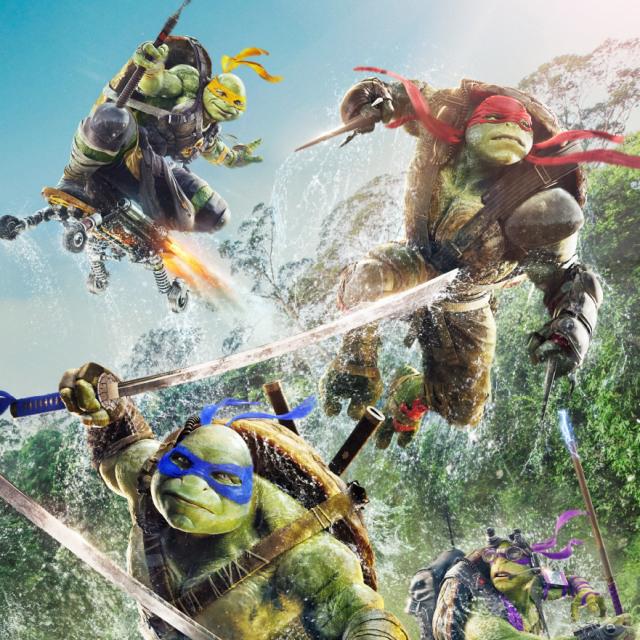 Черепашки-ниндзя 2 (Teenage Mutant Ninja Turtles: Out of the Shadows)