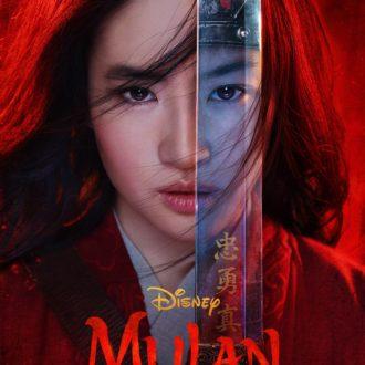 Мулан обложка фильм 2020